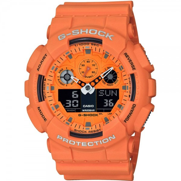 Casio GA-100RS-4AER Férfi Karóra - G-Shock