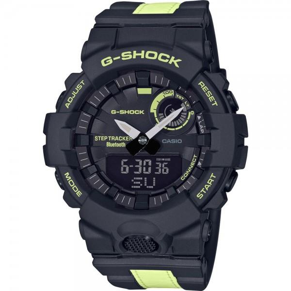 Casio GBA-800LU-1A1ER Férfi Karóra - G-Shock Steptracker Bluetooth