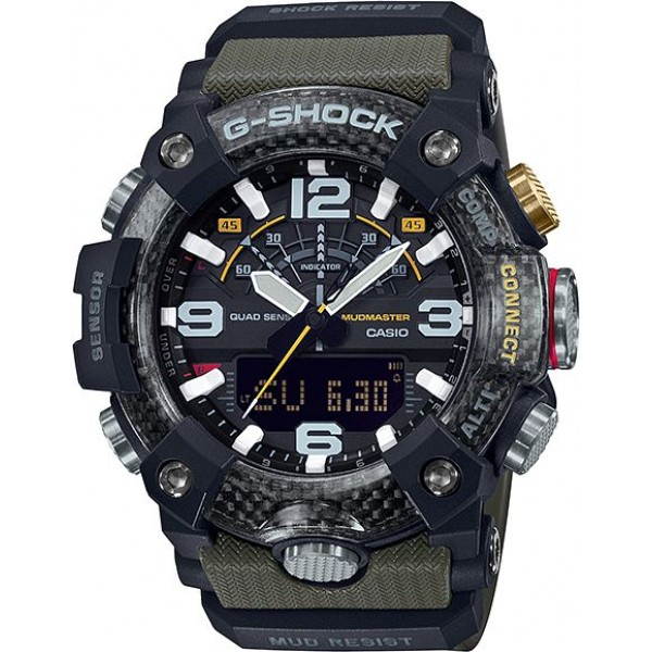 Casio GG-B100-1A3ER Férfi Karóra - G-Shock Mudmaster