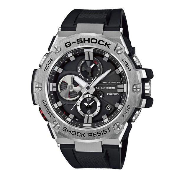 Casio GST-B100-1AER Férfi Karóra - G-Shock G-Steel Solar