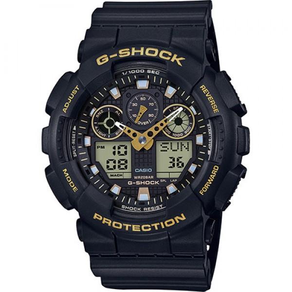 Casio GA-100GBX-1A9ER Férfi Karóra - G-Shock