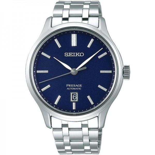 Seiko SRPD41J1 Férfi Karóra - Presage Zen Garden Blue
