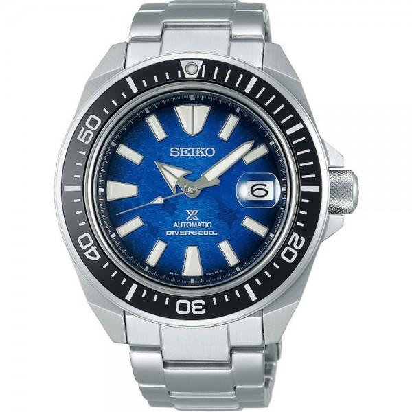 Seiko SRPE33K1 Férfi Karóra - Prospex Save The Ocean Samurai Edition